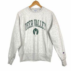 Champion Reverse Weave Deer Valley Sweatshirt Sm